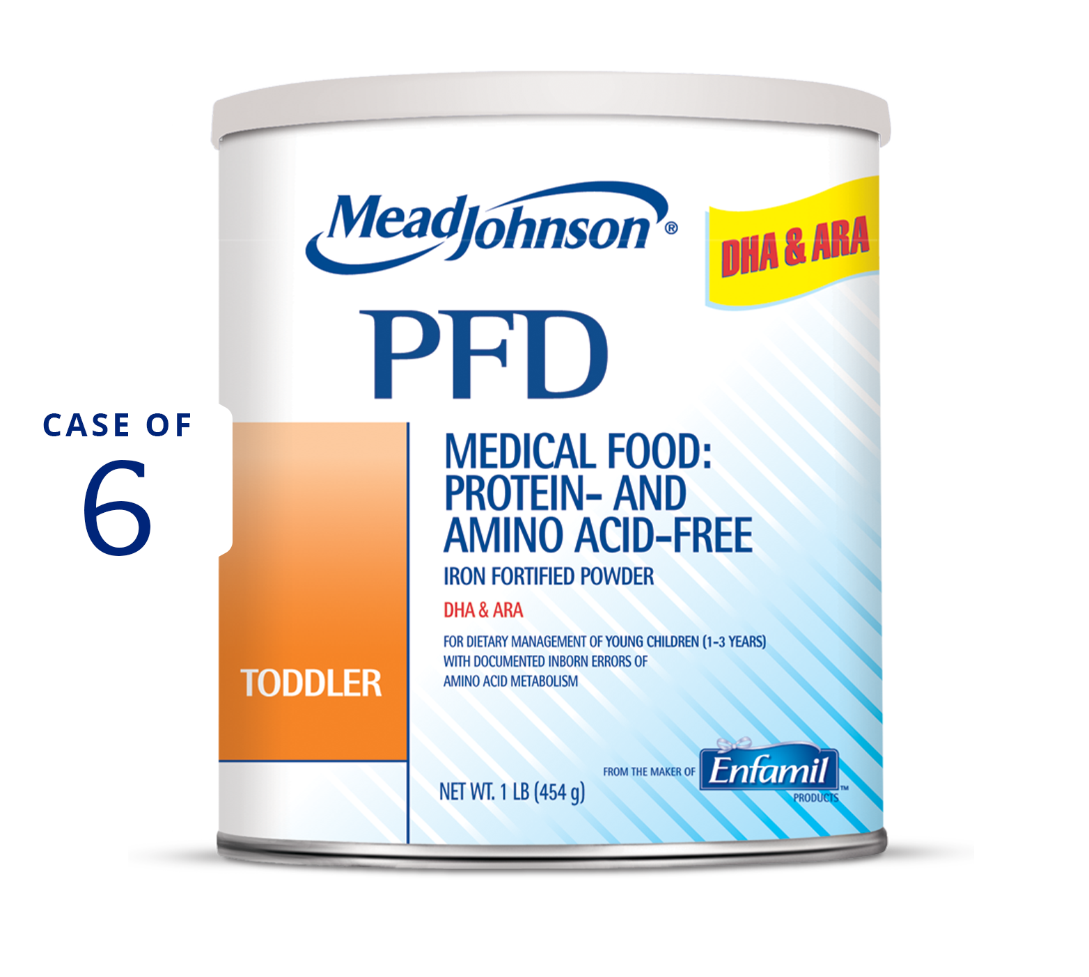 pfd toddler formula 1 lb Can (Case of 6)