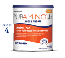 puramino jr nutrition powder 14.1 oz Can (Case of 4)