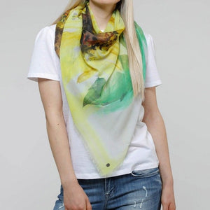 Think Sunflower Eco Scarf