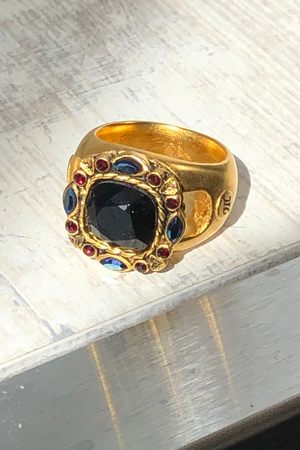 Baroque Cushion Ring