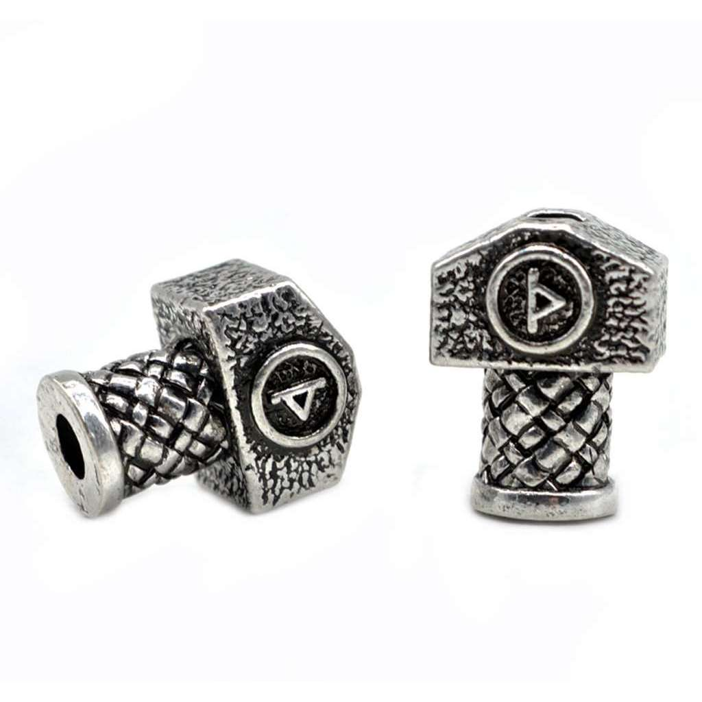 1pc High Quality Weight Viking Runes Beads Hammer for Bracelets for