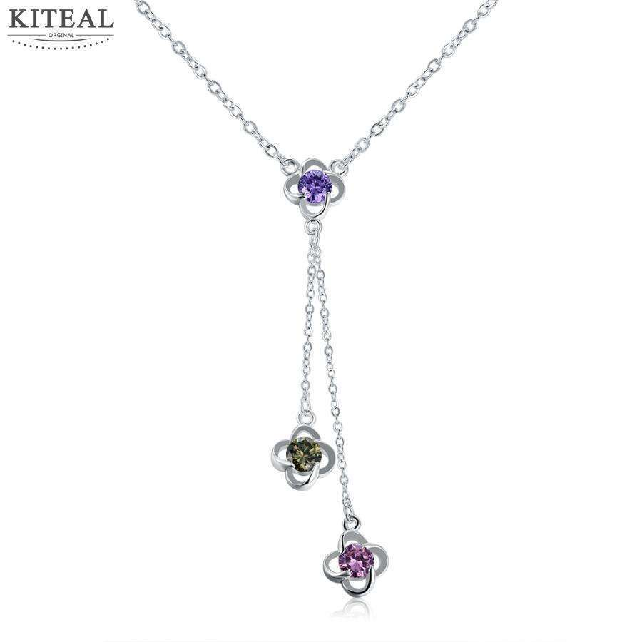 2 pcs 5% off online shopping india silver plated women necklace