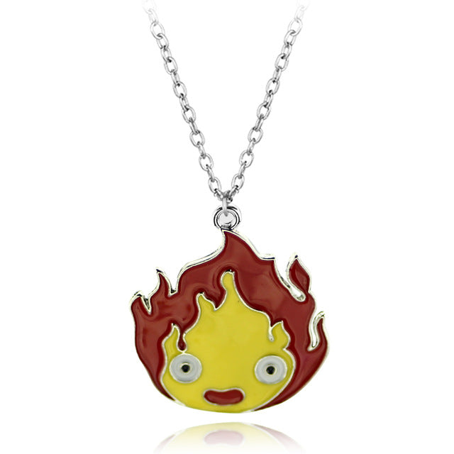 2017 Hot Anime Undertale Red Enamel Heart Necklace Pendant Cosplay