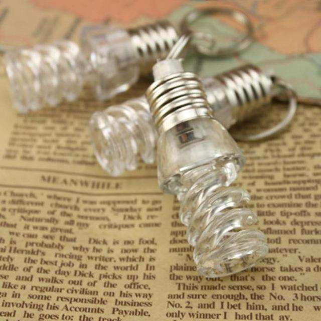 1pcs Creative Colorful Changing LED Flashlight Light Mini Bulb Lamp