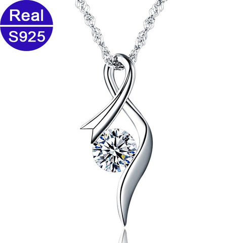 Red Trees Brand Fine Jewelry Fashion Simple 925 Sterling Silver
