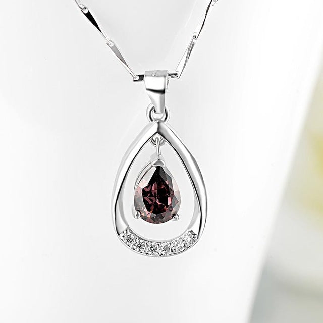 Red Trees Brand Fine Jewelry Fashion Classic Simple 925 Sterling
