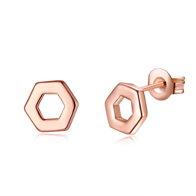 2017 NEW ARRIVALS top quality not lose color earrings  Geometric