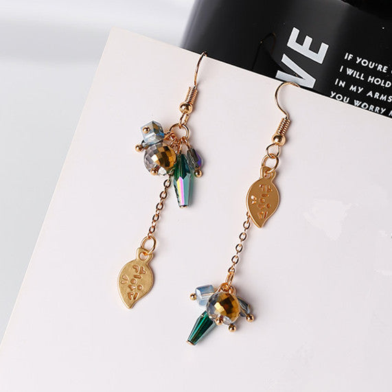 2017 Korean Temperament Women Brinco Drop Earrings Geometric