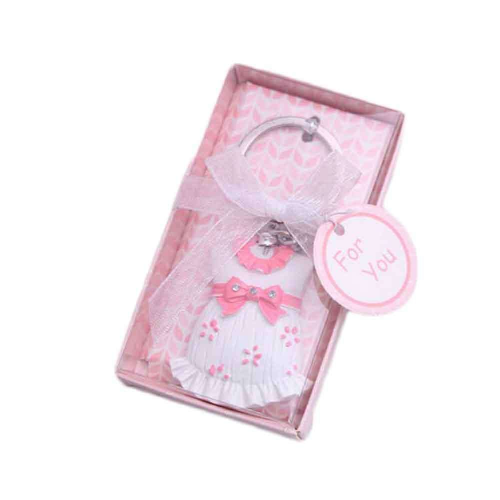 1 piece 2017 Free shipping Keychain Favor Baby Shower Cute baby