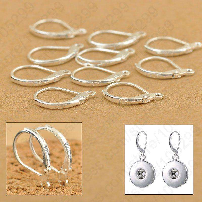 100PCS/Lot Jewellery Components Genuine 925 Sterling Silver Handmade