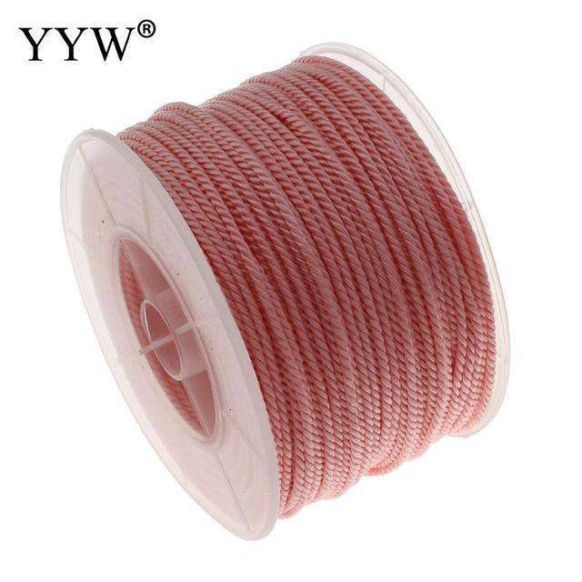 100Yard Nylon Cord 18 Colors Jewelry Accessories DIY Decoration Cord