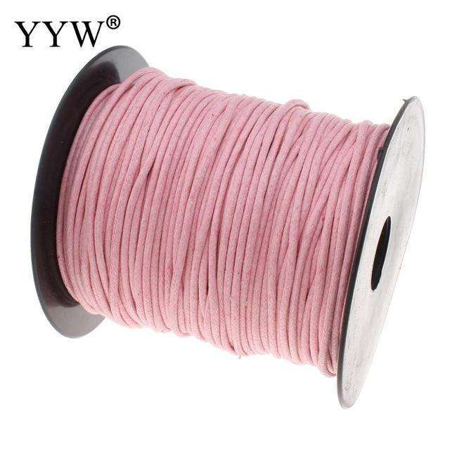 100m/Spool 2mm Nylon Cord High Quqlity Plastic Spool Bracelet Necklace