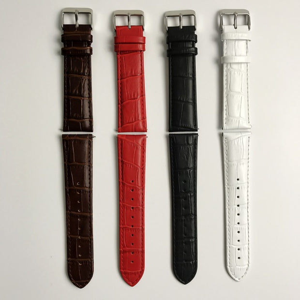 For Gear S3 Frontier / Classic Watch Band, 22mm Crocodile Grain