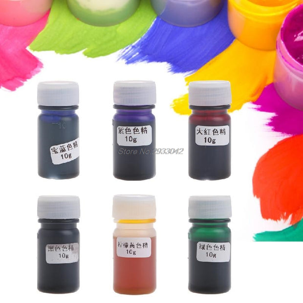 Liquid Silicone Resin Pigment Dye DIY Making Crafts Jewelry