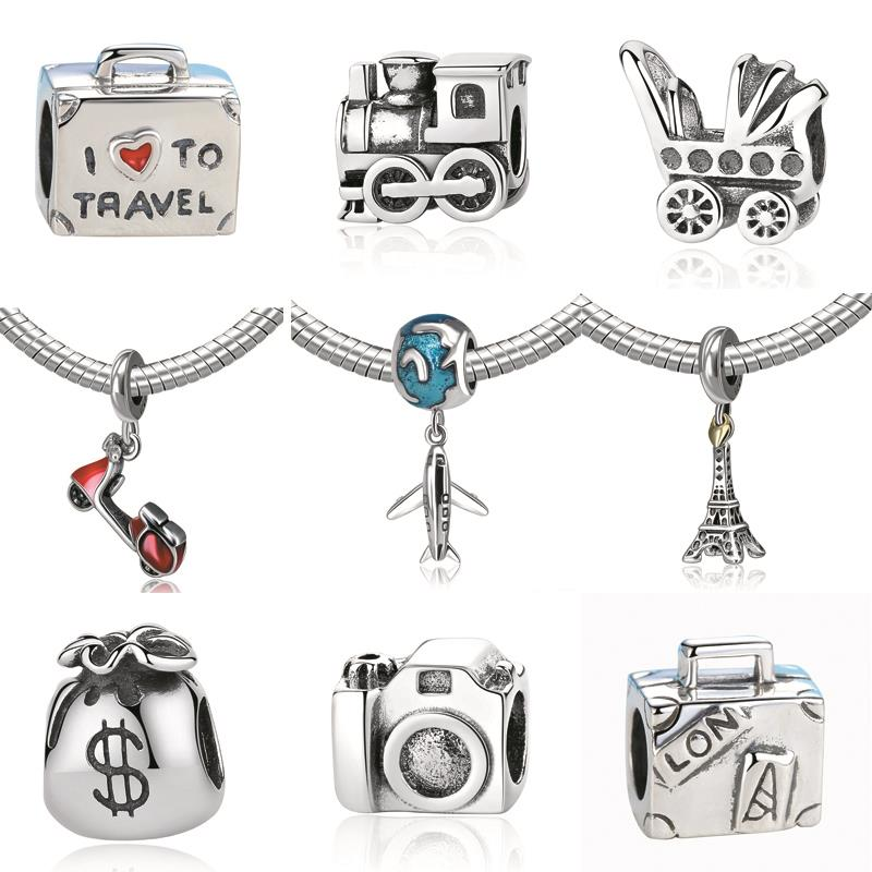2017 Authentic 925 Sterling Silver Charm Fit Pandora Original Bracelet