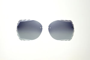 Morgan- Black Fade/Silver Mirror