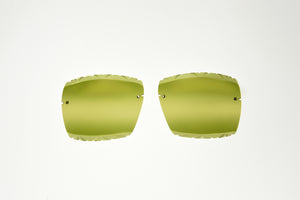 Mykonos- Triple Green/Gold Mirror