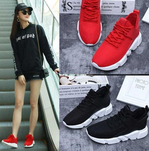 Women Light Weight Breathable Sneakers - FashionzR4U
