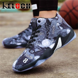 Men High Top Cushion Lace Up Sneakers - FashionzR4U