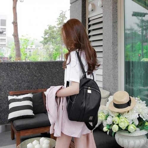 Women Casual Backpack With Earphone slot - FashionzR4U