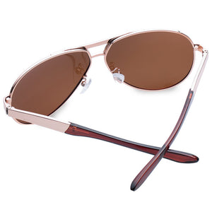Women Chic Silver Metal Embellished Sunglasses