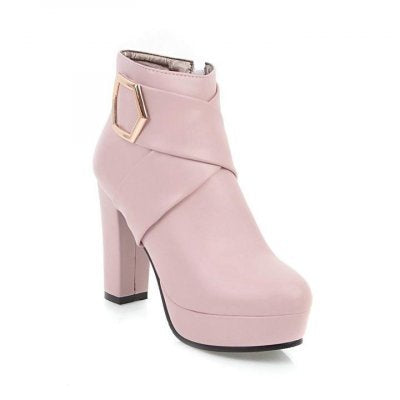 Women`s Ankle 10.5cm Super High Heel Boots