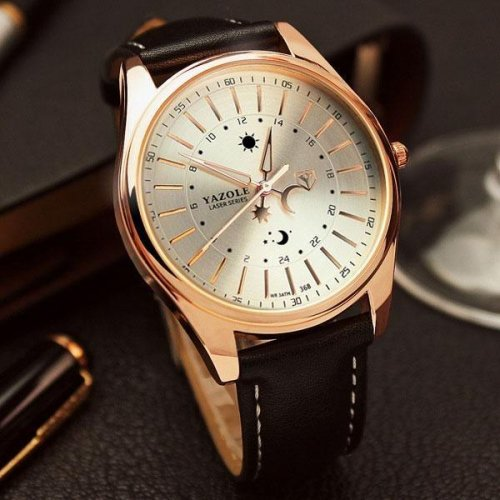 Men Relogi Luxury Quartz Wrist Watch