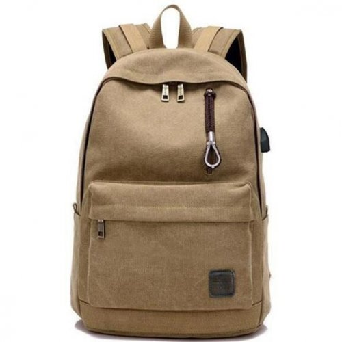 Unisex Canvas Backpack - FashionzR4U