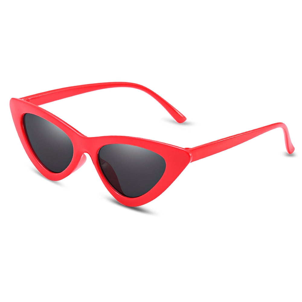Women UV400 Cat Eye Small Triangle Sunglasses
