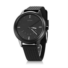 Women Lenovo Bluetooth Fitness Tracker Support Black Smartwatch