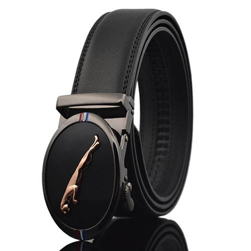 Men Ceinture Design Automatic Buckle Leather Belts - FashionzR4U