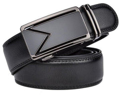 Men Cinturones Automatic Buckle Luxury Leather Belts - FashionzR4U