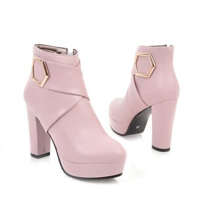 Women Super High Heel Ankle Boots - FashionzR4U