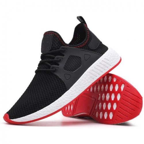Men Weave  Mesh Breathable Sneakers - FashionzR4U