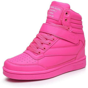 Women Breathable High Top Sneakers