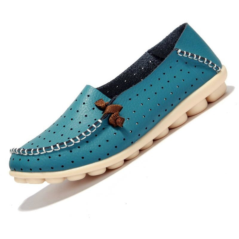 Women Soft Leather Flat Shoes - FashionzR4U