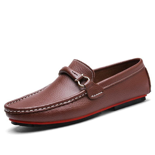 Men Luxury Driving Casual Moccasin Fashion Leather Loafers - FashionzR4U