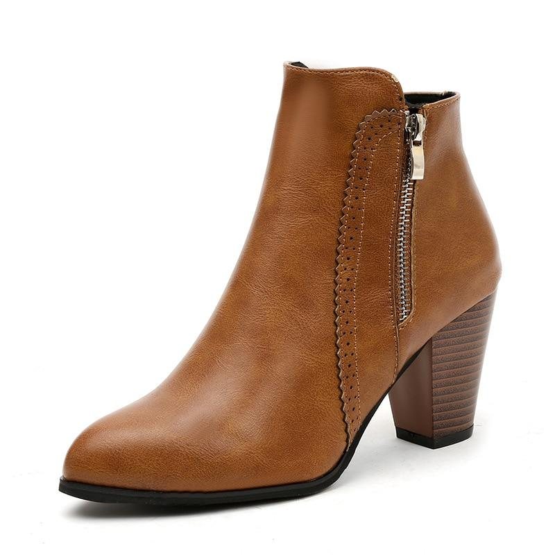 Women Autumn Ankle Sexy Martin Short Boots