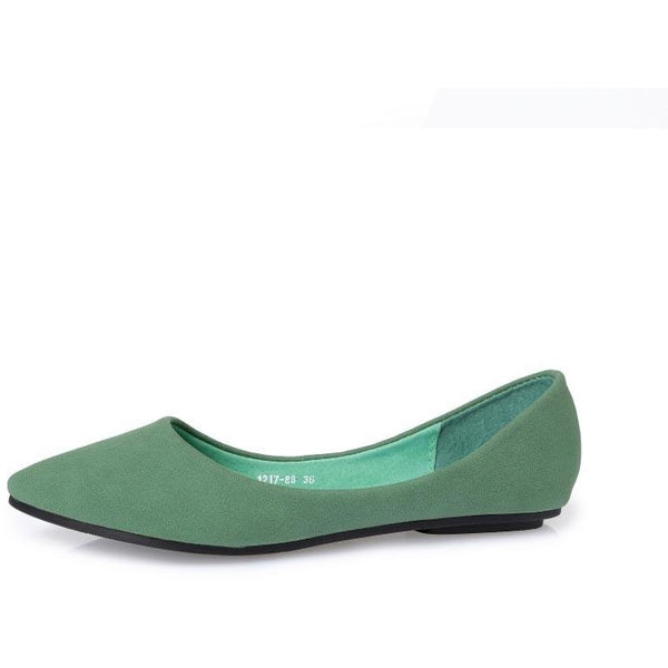 Women Pointed Toe Flat Shoes - FashionzR4U