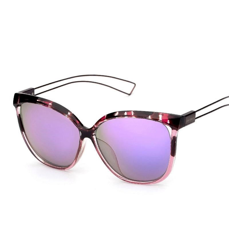 Women Cat Eye Fashion Design UV400 Outdoor Sunglasses - FashionzR4U