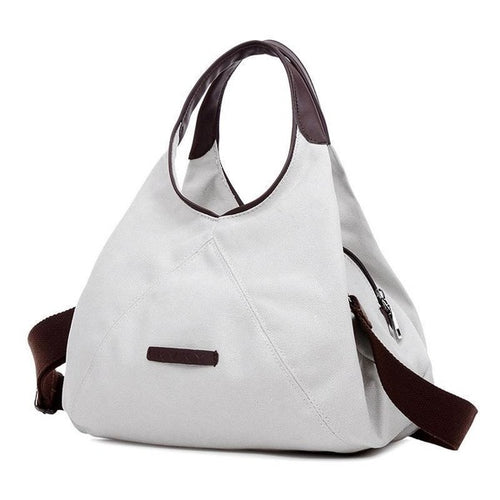 Women Casual Vintage Canvas Tote Shoulder Bags - FashionzR4U