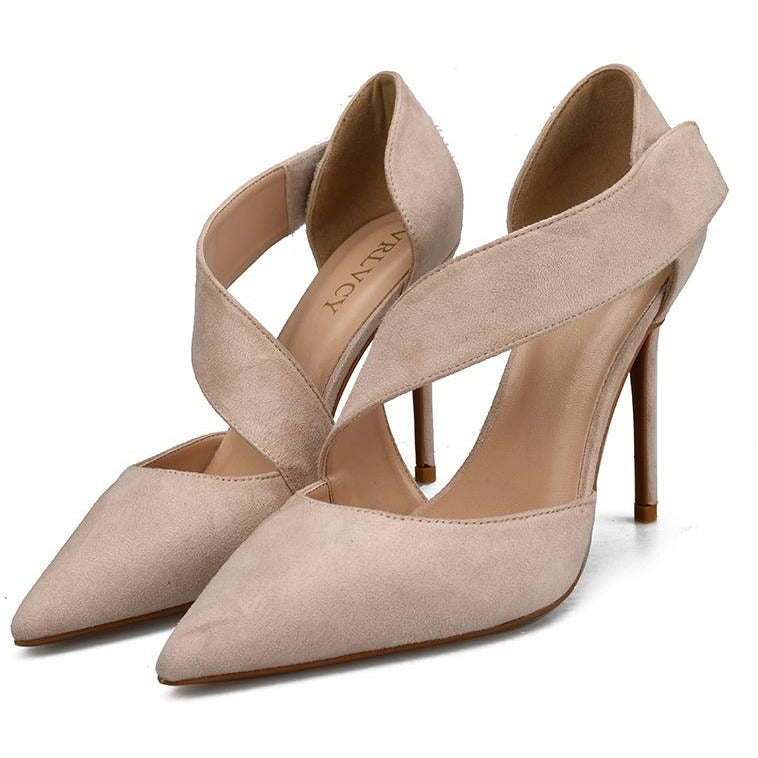 Women Elegant Ultra Thin Heel Shoes - FashionzR4U