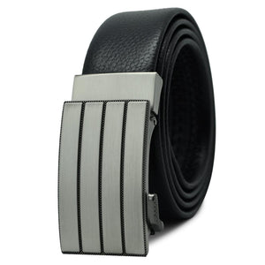 Men High Quality Leather Metal Buckle Belts - FashionzR4U