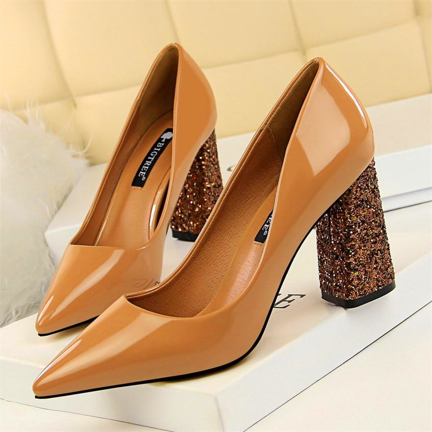 Women Patent Leather Shoes - FashionzR4U