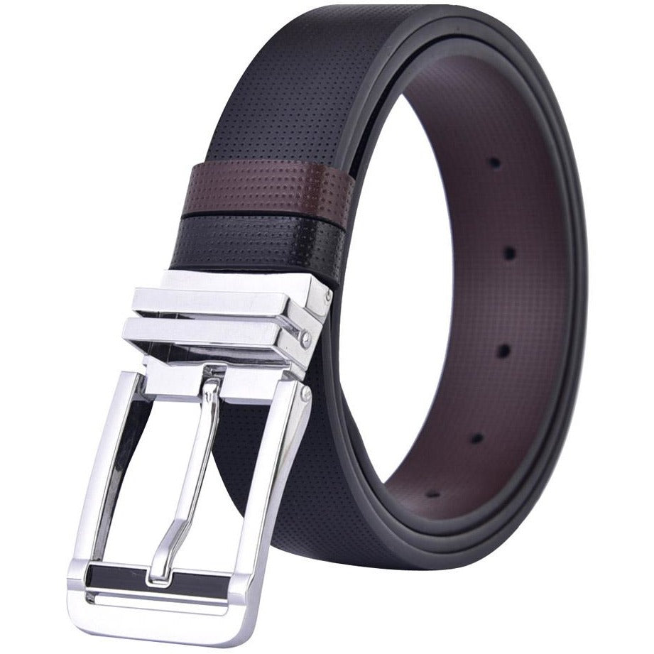 Men Reversible Leather Belts - FashionzR4U