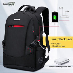 Men Anti Theft Fashion Laptop Large Capacity School Backpack - FashionzR4U