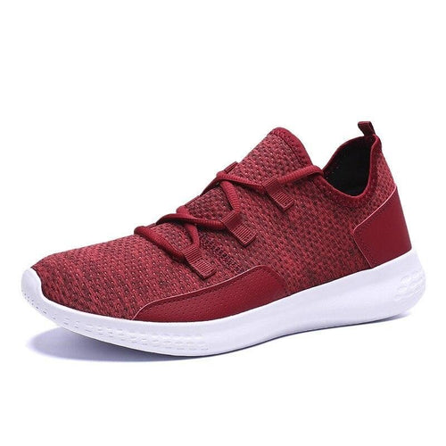 Men Flyknit Light Summer Breathable Running Sneakers - FashionzR4U