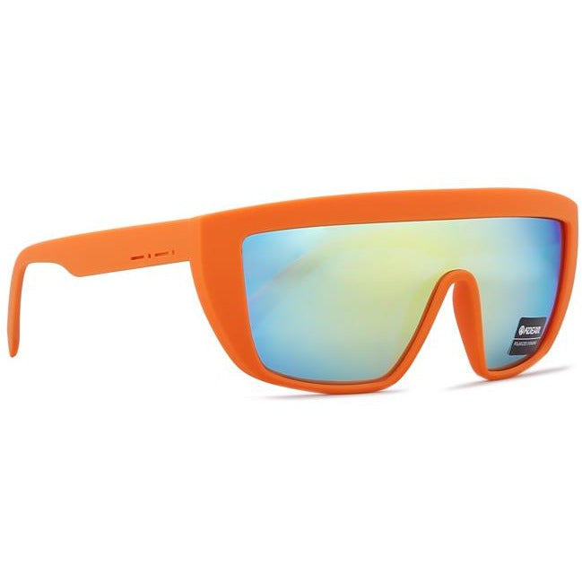 Men One Piece Polarized Oversize Shield Sunglasses