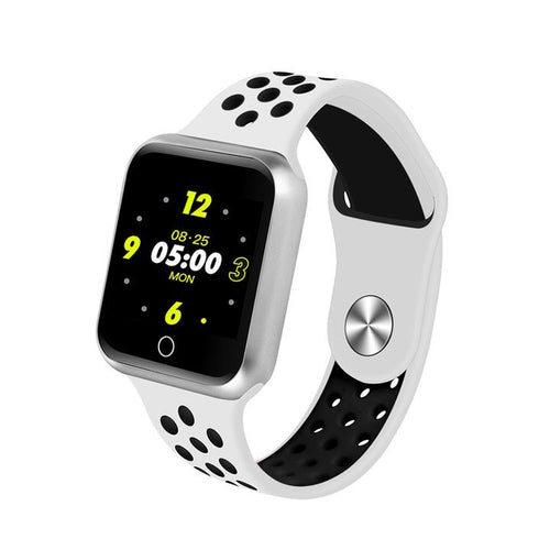 Women Sport Modes Bluetooth Heart Rate Monitor Smartwatch - FashionzR4U