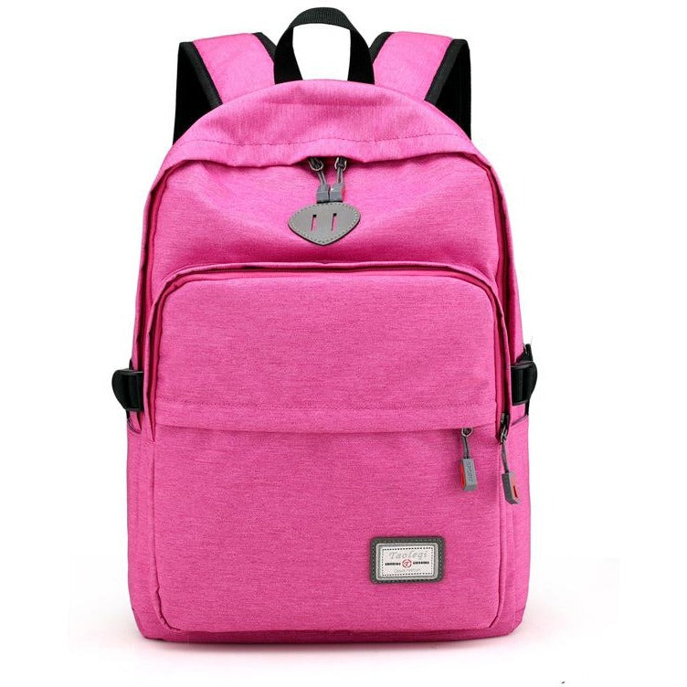 Unisex Casual Laptop Shoulder Backpacks - FashionzR4U